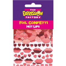 CON021 Hot Lips Foil Confetti