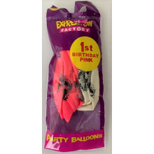 LB103A Balloons 1 Today Pink