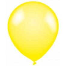 Latex Balloons Plain Yellow