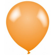 Latex Balloons Plain Orange
