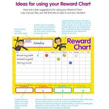 Reward Chart (4 Charts w/ 250+ Stickers)