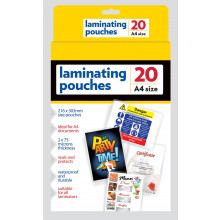 S4706 A4 Laminating Pouches 20's