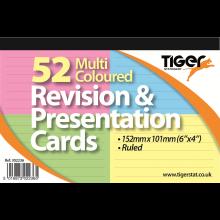 "Col'd Revision/Presentation Cards 6""x4"""