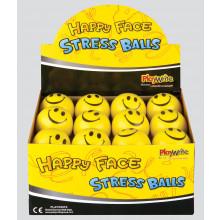 T4801 Happy Face Stress Ball 65mm