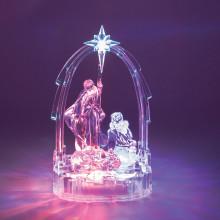 C3003 LED Nativity Ornament 12x8x19.5cm