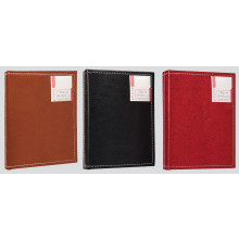 Stitched Leatherette Photo Album 36 Pkt