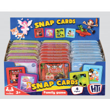 Snap Cards In Tin 4 Assorted