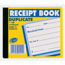 Club Duplicate Receipt Book (100pgs)