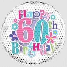 Foil Balloon Age 60 Female