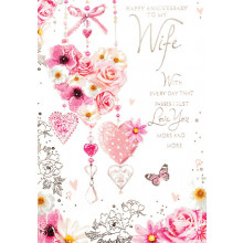 Greetings Cards Wife Anniversary