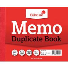 """Silvine Duplicate Memo Book 4""""x5"""" 603"""