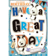 S13338 Cards Male Birthday