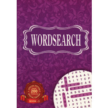 A5 Classic Wordsearch Book 256pg 4 Asst