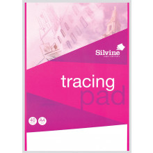 Silvine A4 Tracing Pad 40 Sheets
