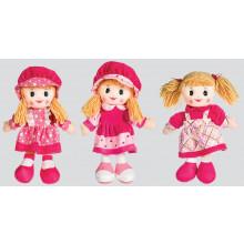 """Rag Doll 30cm/12"""" 6 Assorted"""