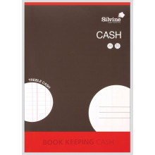 Silvine Book Keeping Cash - Treble Cash
