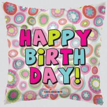 Foil Balloons Happy Birthday Pink