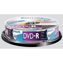 Philips DVD-R 10 Pack Spindle