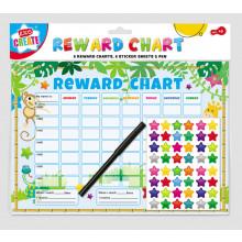 Reward Charts (6 charts, stickers & pen)