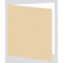 Plain Cream Gift Tag - Adhesive