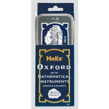 Helix Oxford Maths Set in Tin