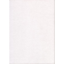 Pack 'H' Craft Card - Thick White