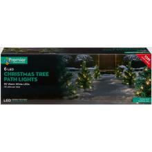 C2804 Tree Path Lights Warm White 6Pce