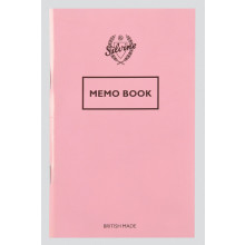 Silvine Pastel Memo Book 72 Pages Asst