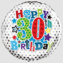 Foil Balloon Age 30 Male