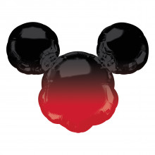 """Foil Balloons Mickey Mouse Ombre 27"""""""
