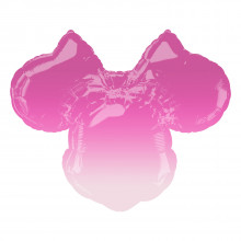 """Foil Balloons Minnie Mouse Ombre 28"""""""