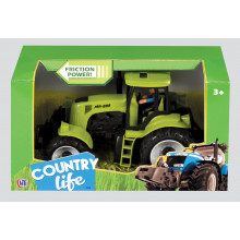 Country Life Tractor (Friction) Assorted
