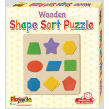 Wooden Shape Sort Puzzle
