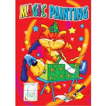 Magic Painting Books 4 Asstd 240x335mm