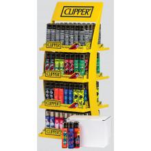 Clipper Lighters Stand 160 Asst