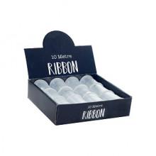 White Ribbon 1cmx10M