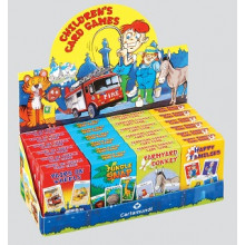 Children's Card Games 4 Assorted