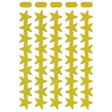 Self Adhesive Labels Gold Stars