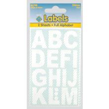 White Vinyl Letters 24mm