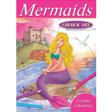 Mermaids Colour Art
