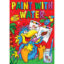 Paint with Water Books 2 Asstd 16 Pages