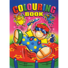 A4 Colouring Books - 4 Asst 40 Pages