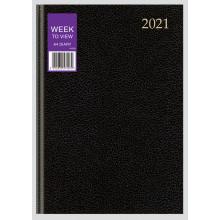 D0101 A4 WTV Desk Diary 3 Asst