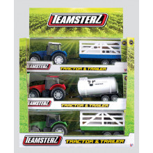 Teamsterz Tractor & Trailer Assorted