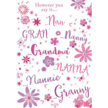 Greetings Cards Grandma