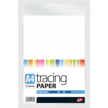 A4 Quality Tracing Paper 10 Sheets