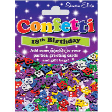 Confetti 18th Birthday CON804