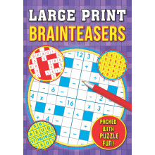 Large Print Brainteasers Puzzle Book