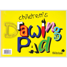 Children's A4 Drawing Pad 20 Pages