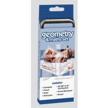 Geometry & Maths Set in Tin